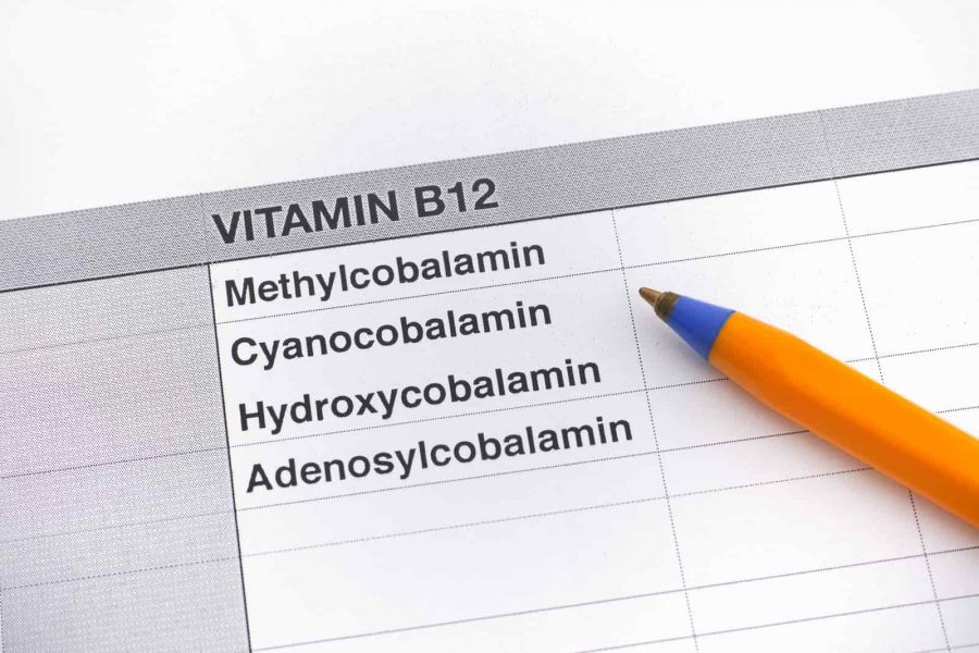 Different Types of Vitamin B12