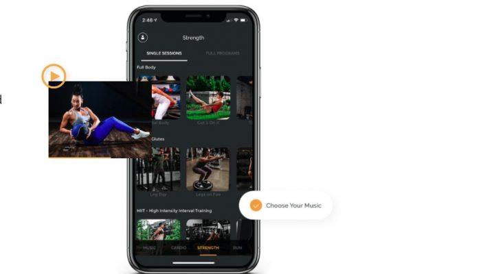 Fit Radio App Screenshot